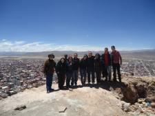 Ministério de Missões da igreja Luz da Vida em Oruro - Out/2013