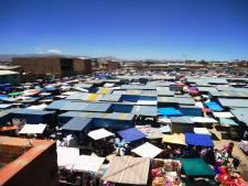 Feira Campesina (produtores rurais) na cidade de Oruro