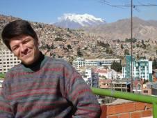Pastor Peniel na cidade de La Paz