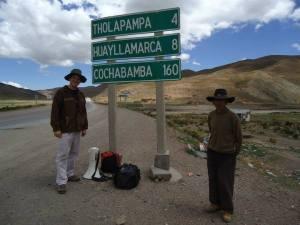 Pastor Peniel nos Andes de Bolívia