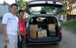 Material evangelístico sendo enviado às províncias de Bolívia