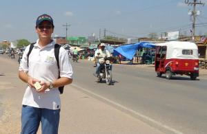 Durante o evangelismo em San Julian, Bolívia