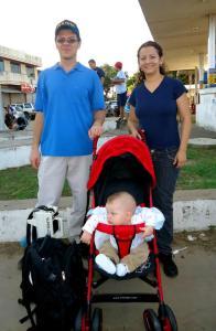 Pastor Peniel, Mina e o pequeno Samuel Yuuki