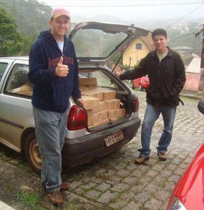 Material evangelístico para Bolívia