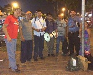 Pregadores de rua de Bolívia